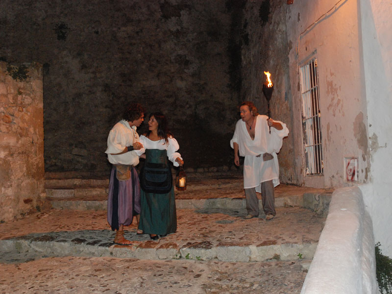 DRAMATISED VISIT TO DALT VILA