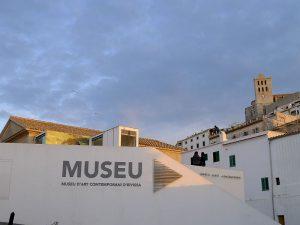 El Museu d'Art Contemporani, en Dalt Vila