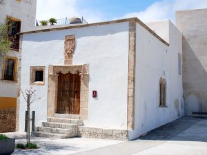 La Casa de la Cúria, antigua Administración de Justicia de la isla