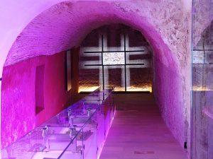 El Centro de Interpretación Madina Yabisa ocupa la antigua Casa de la Cúria