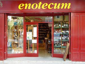 Entrada de Enotecum