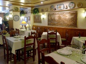 El Cigarral, restaurante de cocina tradicional española