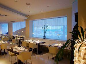 Restaurante de El Hotel Pachá, en el Paseo Marítimo