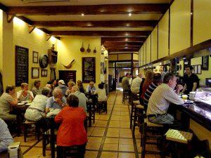 Taberna de pinchos El Zaguán, en Bartomeu Rosselló