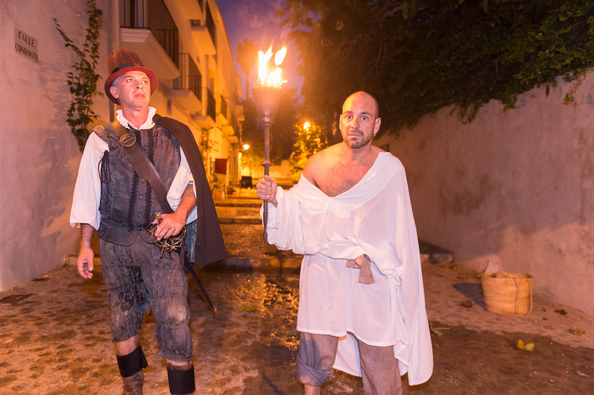 Visitas teatralizadas a Dalt Vila