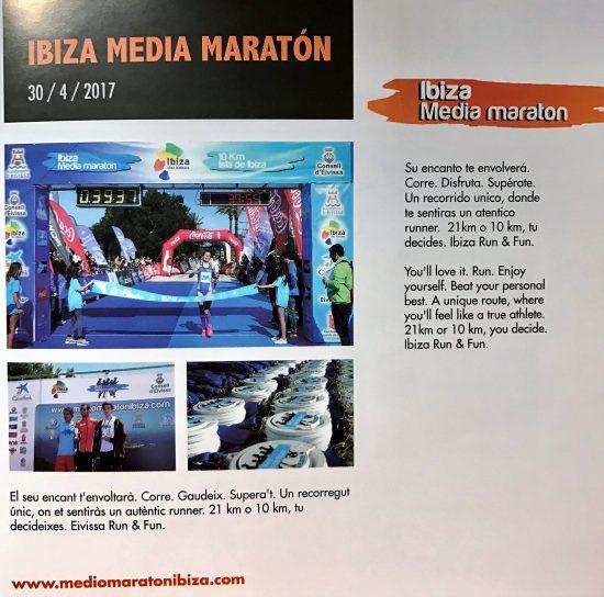 Ibiza Medio Maraton 30 abril