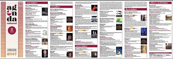 Agenda cultural catalán