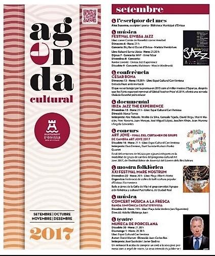 Agenda cultural catalán septiembre