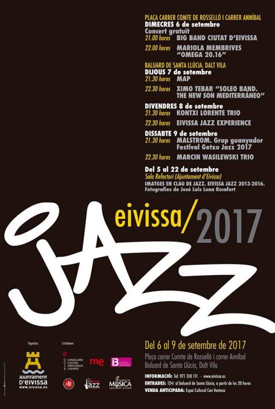 Cartel Eivissa Jazz 2017