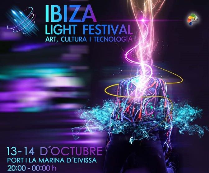 Cartel Ibiza Light Festival home
