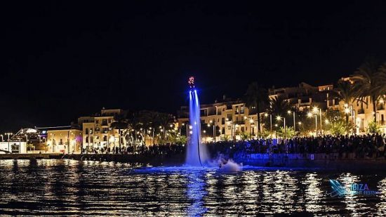 Ibiza Light Festival agua